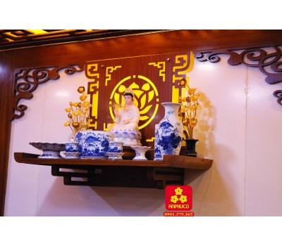 Bàn thờ Phật mầu đậm
