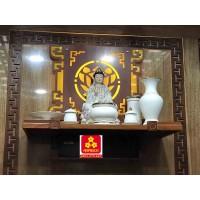 Bàn thờ treo tường gổ gõ đỏ(M-MT1GD.81.42.022)