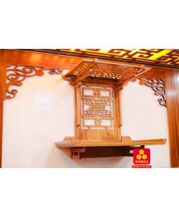 Trang thờ Gia tiên có mái