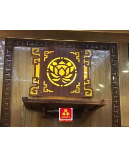Bàn thờ treo tường gổ hương NP (M-MT1H.68.42.001)