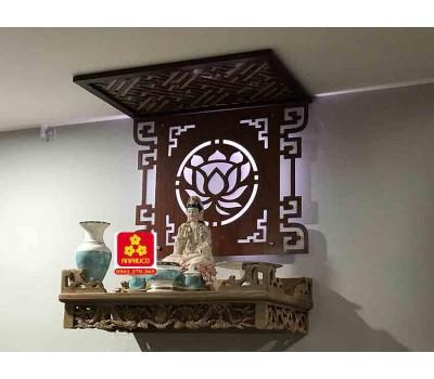 Bàn thờ treo tường gổ sồi(M-MT1S.68.42.044)
