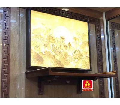 Bàn thờ treo tường gổ sồi(M-MT1S.81.42.008)