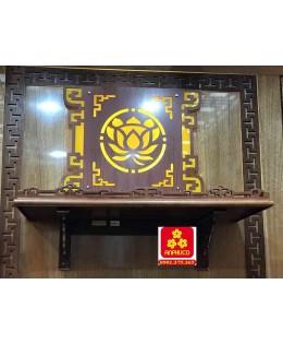 Bàn thờ treo tường gổ sồi(M-MT1S.88.48.003)