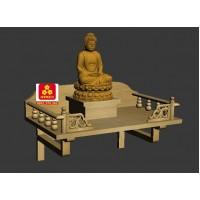 Bàn thờ Phật kiểu hiện đại