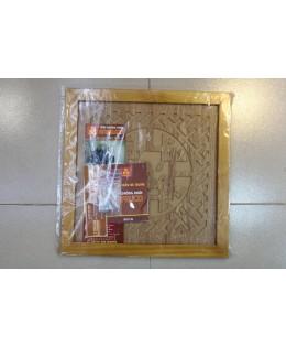 Tấm chống khói trần nhà chữ Phúc màu vàng