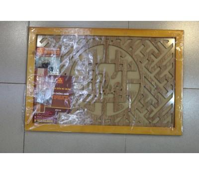 Tấm chống khói chữ Phúc thư pháp